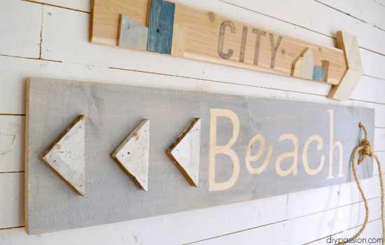 DIY Scrap Wood Signs
