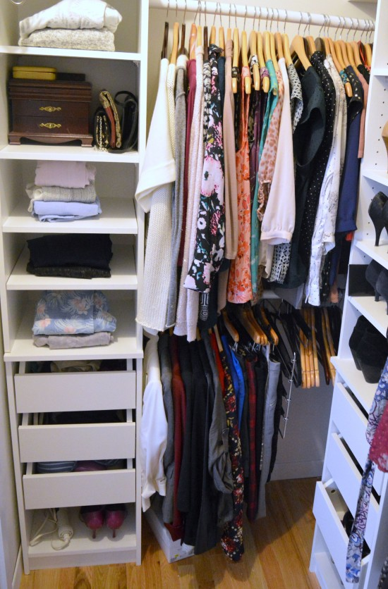 KonMari Closet Close Up