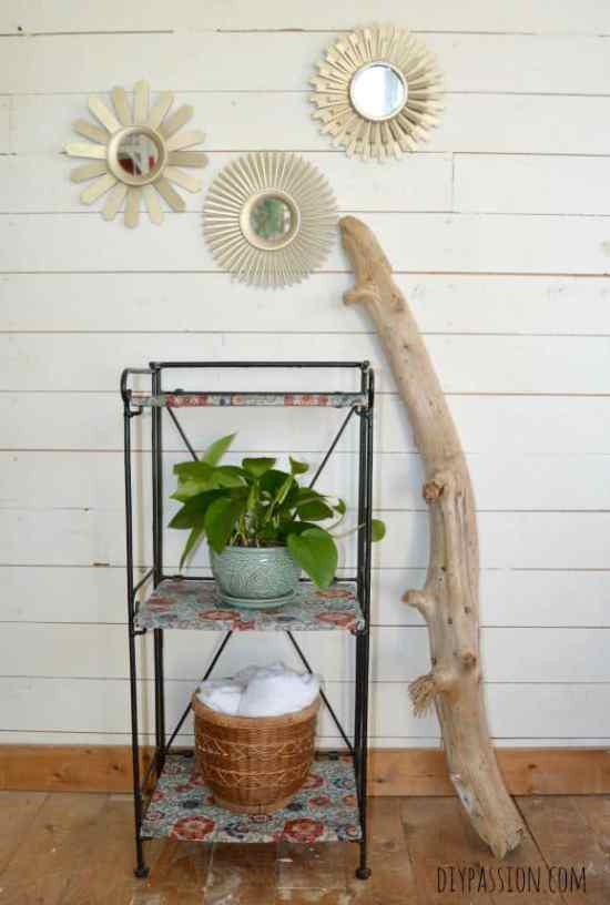 How to update wood furniture with decoupage
