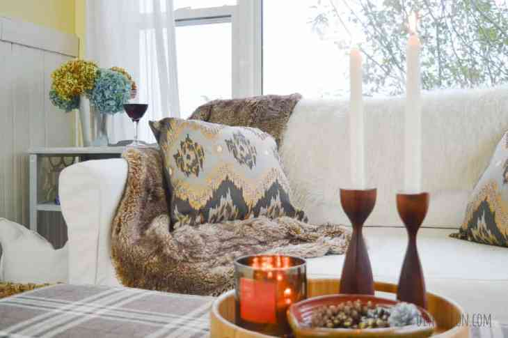 Cozy Textured Pillows for Fall