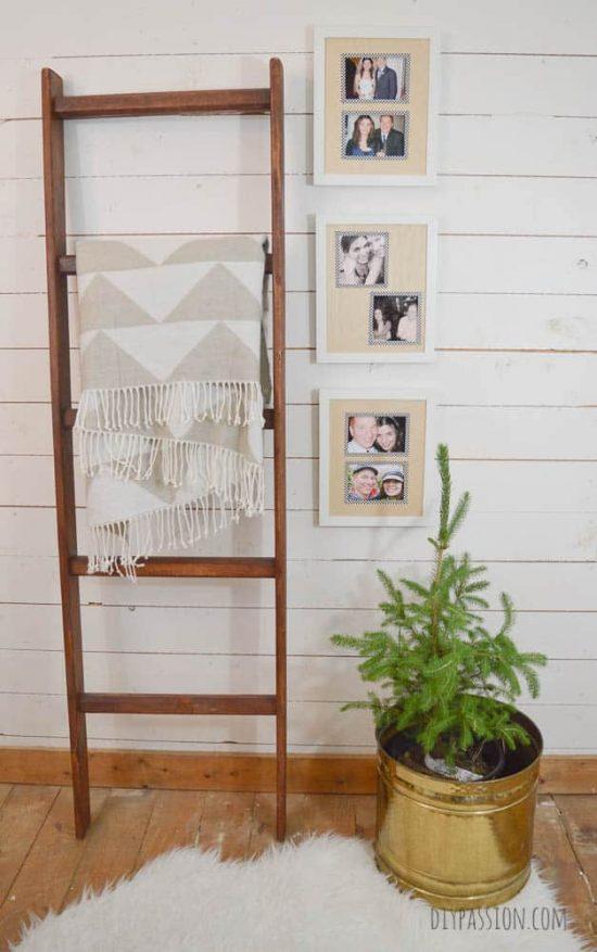Craft Wood Photo Mats Full View