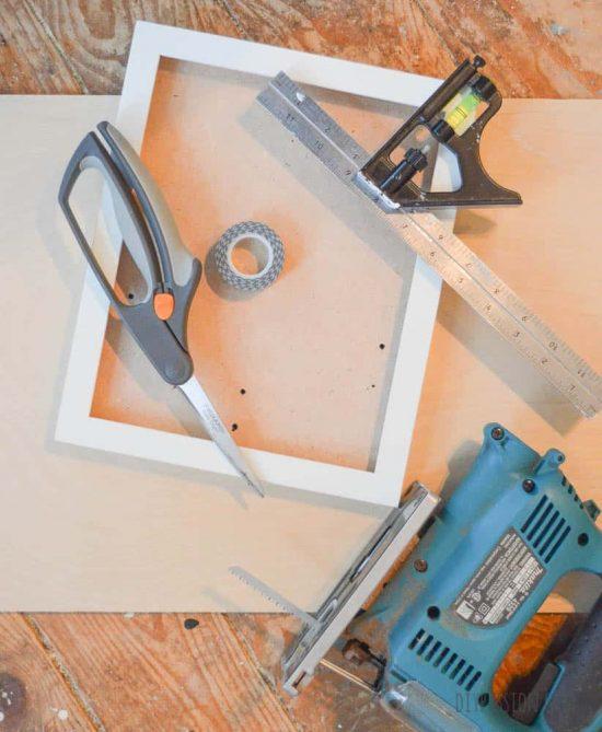 Supplies for Craft Wood Photo Mats