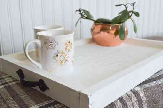 DIY Rustic Serving Tray
