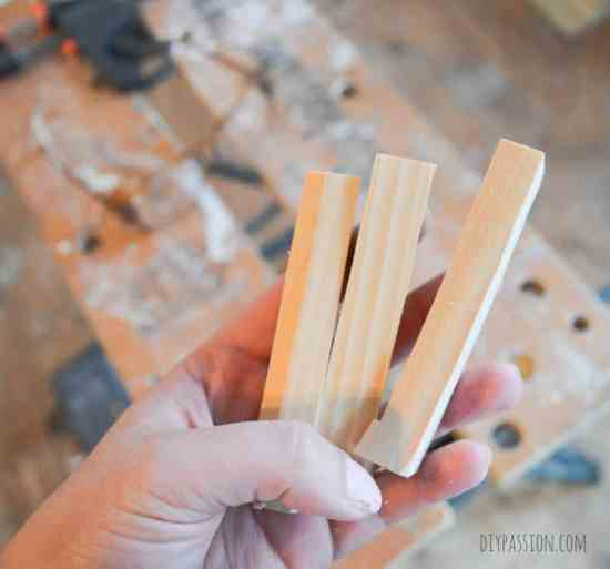 How to build a mail sorter with pine planks