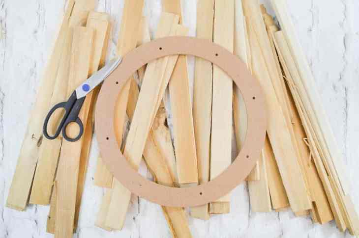 Wood Shim Wreath Supplies