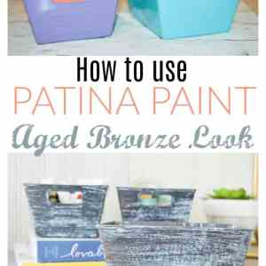 How to Use Patina Paint Kit