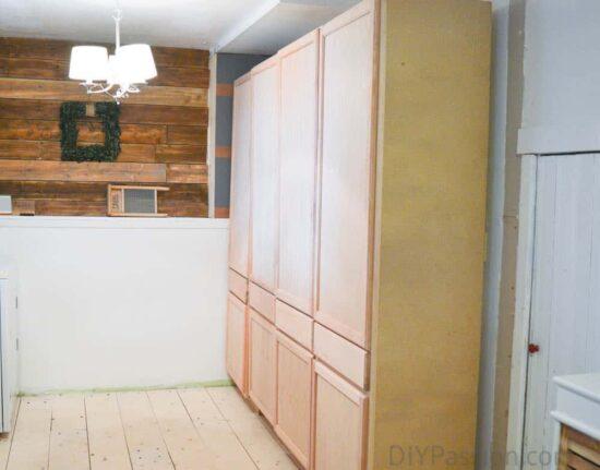 Studio Floor and Cabinet Update
