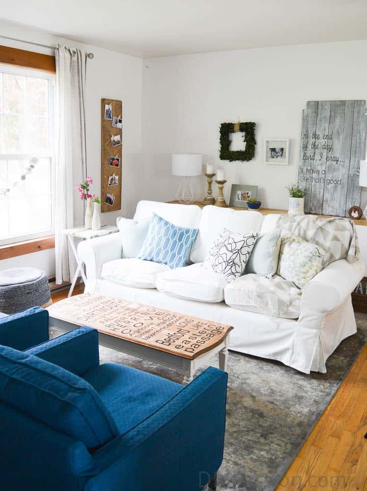 How To Keep A White Slipcovered Sofa Clean Diy Passion