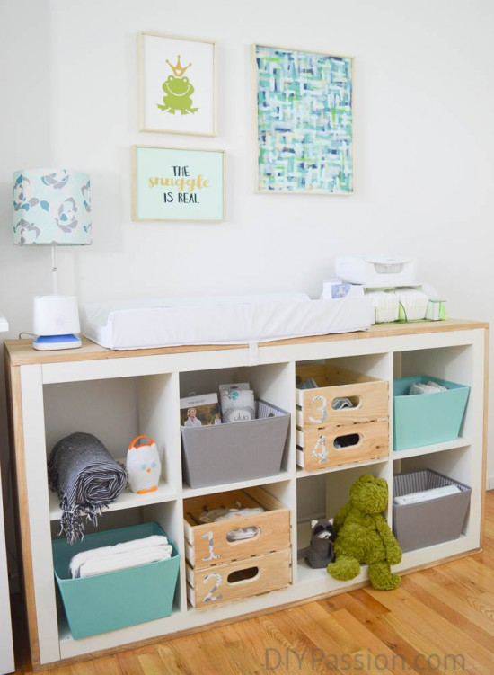 How to Organize a Nursery and Repurpose Old Furniture DIY Passion