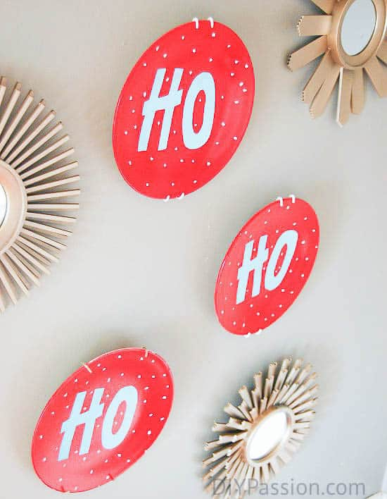 How to Make Festive Holiday Plate Art