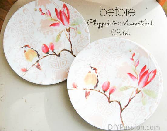 Turn Old Dishes into Holiday Plate Art