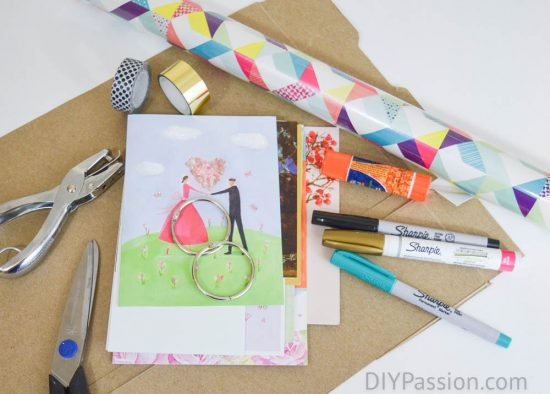 How to store and organize greeting cards diy passion organize greeting cards the supplies m4hsunfo
