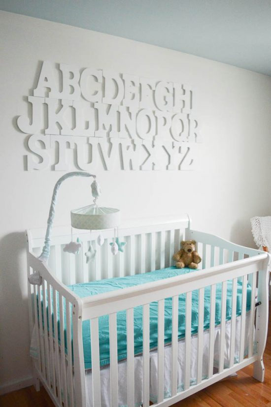 Updated How to Hang an Alphabet Wall