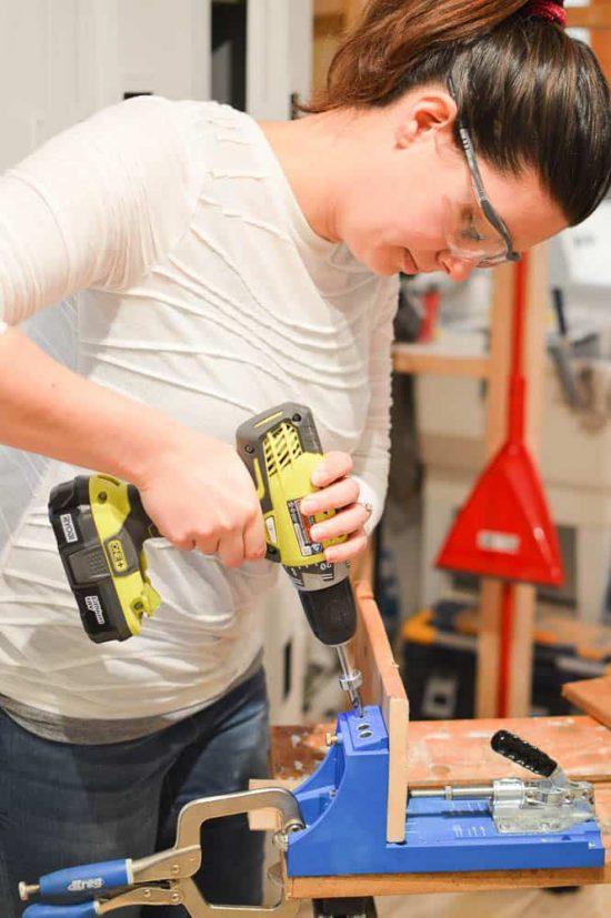 Using a Kreg Jig to Build a Wooden Lantern