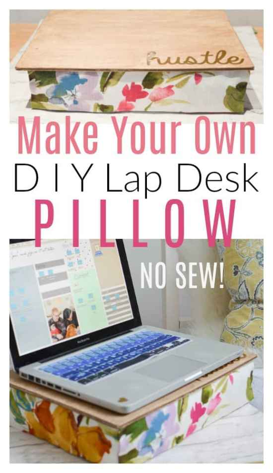 Lap Desk Pillow