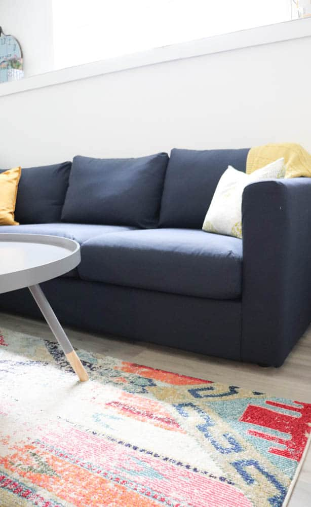 ... beat the price of $1063 including taxes and local delivery. INCLUDING 15% tax and a $100 delivery charge. In other words this sofa is very inexpensive. & IKEA Vimle Sofa Review   Playroom Update - DIY Passion