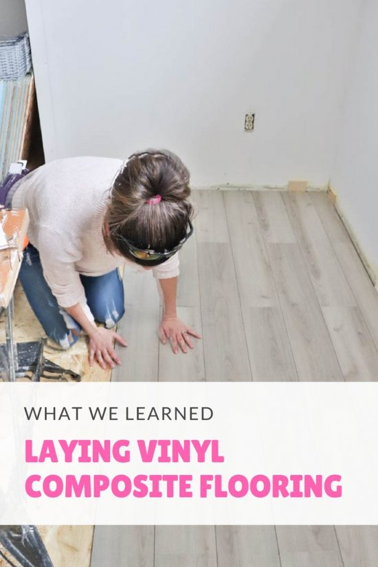 How To Lay A Vinyl Composite Floor Playroom Makeover Update Diy