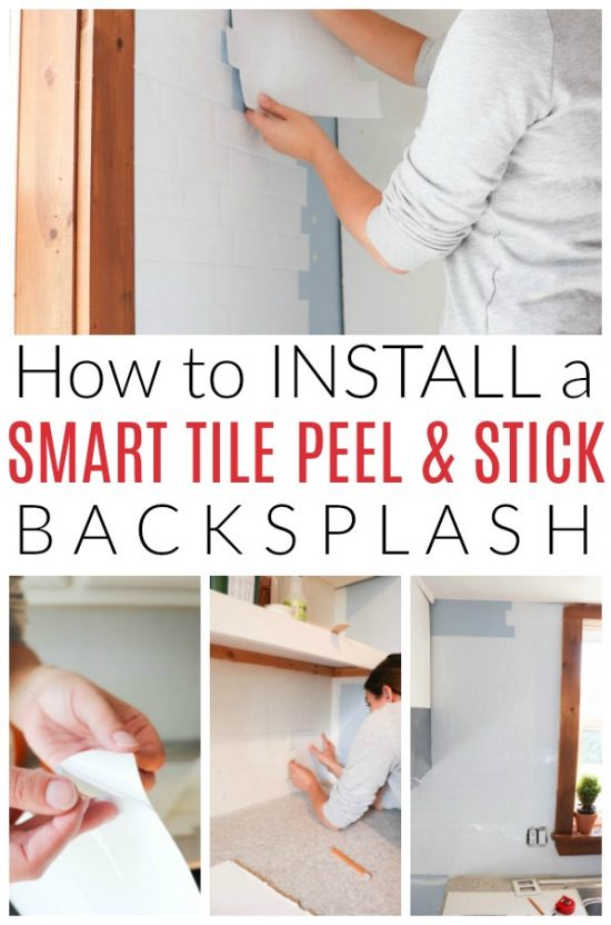 how to install smart tile peel and