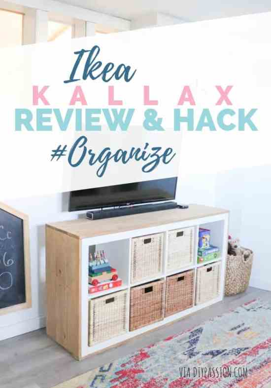 Ikea Kallax Hack and Review