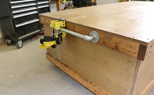 DIY Rolling Workbench With Free Workbench Plans