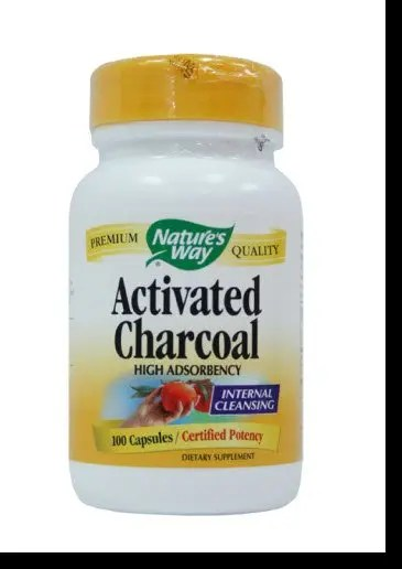 You can make your own or buy capsules of Activated Charcoal