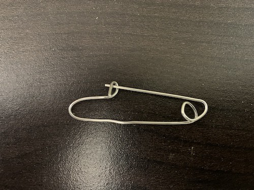 Paper Clip Safety Pin