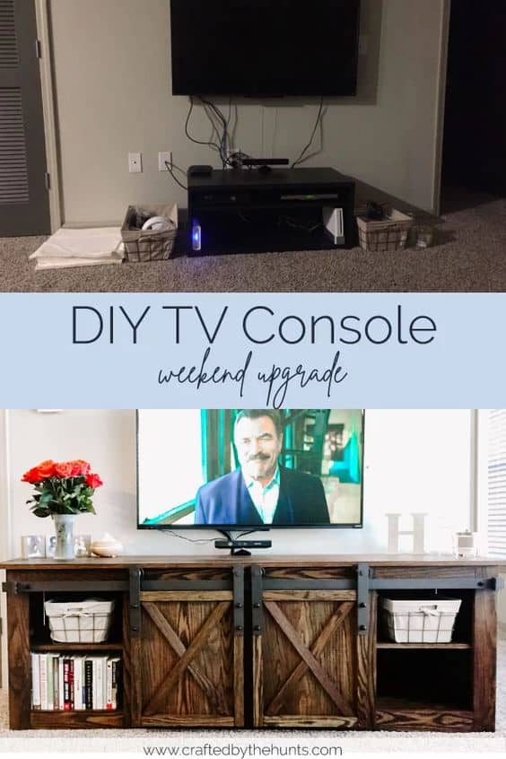 Top Trending 8 Diy Tv Console Collection