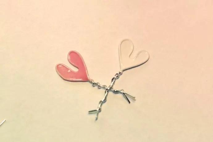 nagellackshjärtan