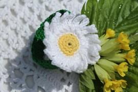 virka blommor