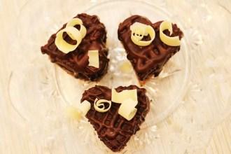 brownie hjärtan