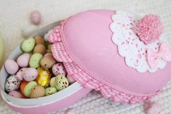 påskpyssel med påskägg