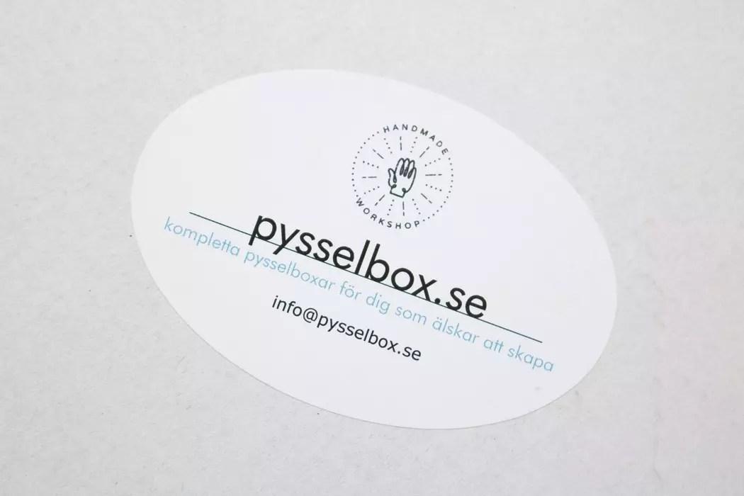 Pysselbox