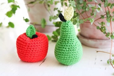 Virka äpplen och päron