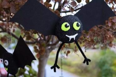 halloweenpyssla fladdermöss
