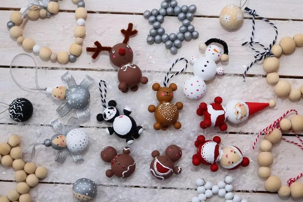 Julpyssla julfigurer