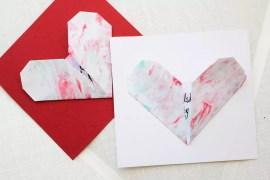 Origamihjärtan