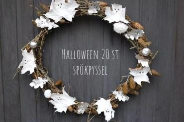 Halloween spökpyssel