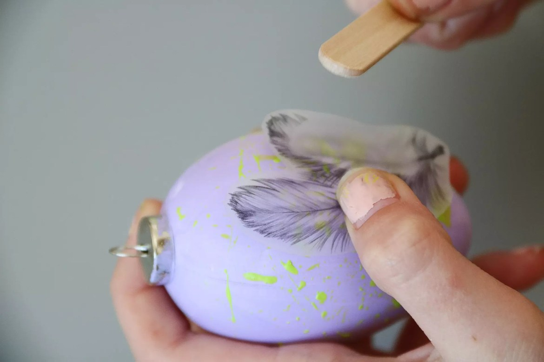Ägg med tatueringar