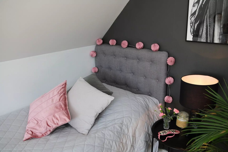 Sovrum sänggavel