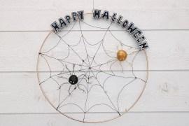 Halloween dörrskylt