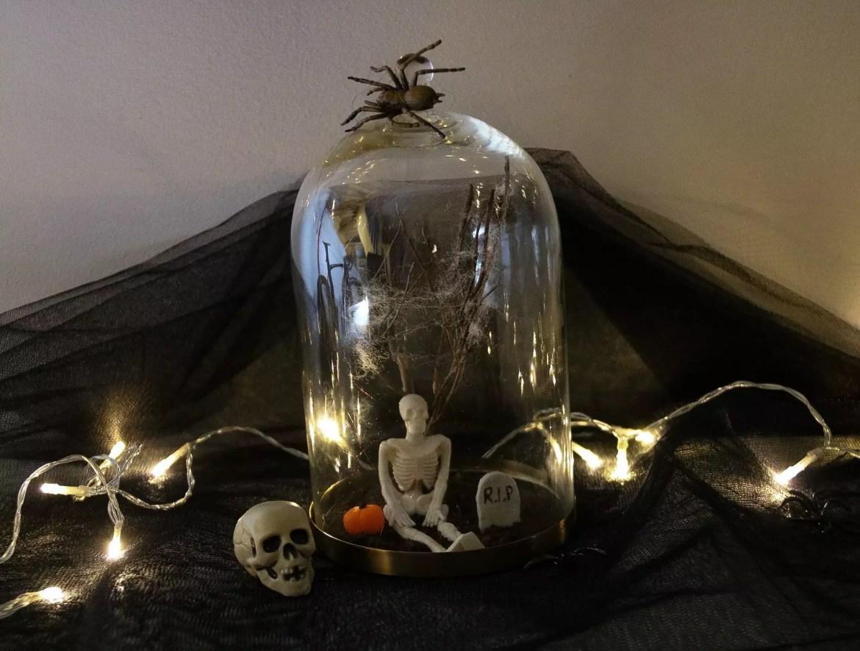 Halloween minivärld