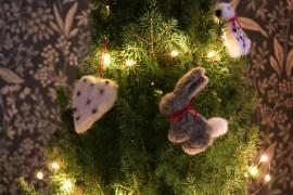Nålfilta julhängen
