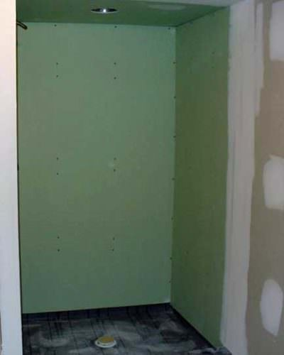 drywall showers and other bad ideas