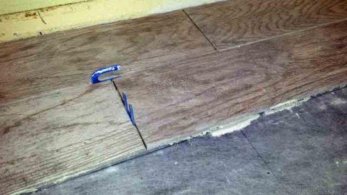 installing wood look tile flooring