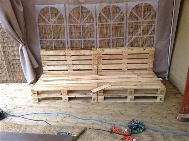 19 Diy Wooden Pallet Bench Diy To Make
