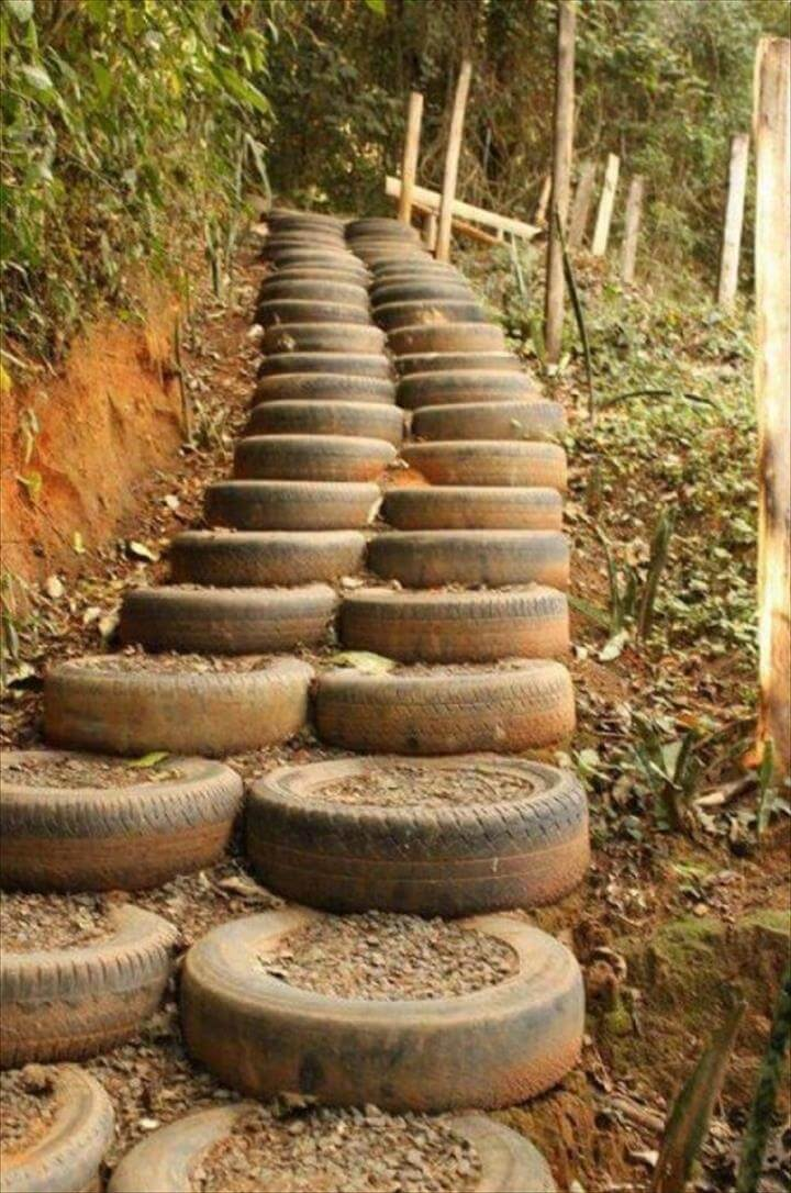 Made Tires Planters