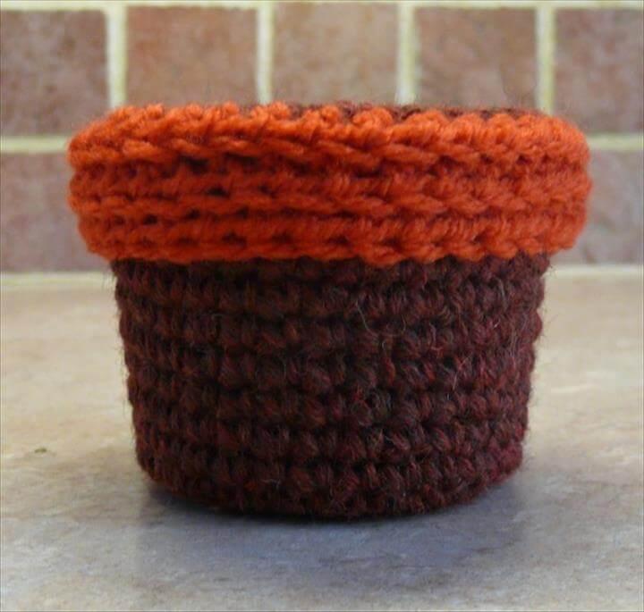 Knit Flower Headband Diy