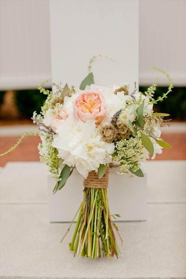 Country Wedding Table Centerpiece Ideas