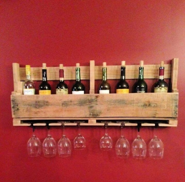 15 diy wine racks from pallet wood with