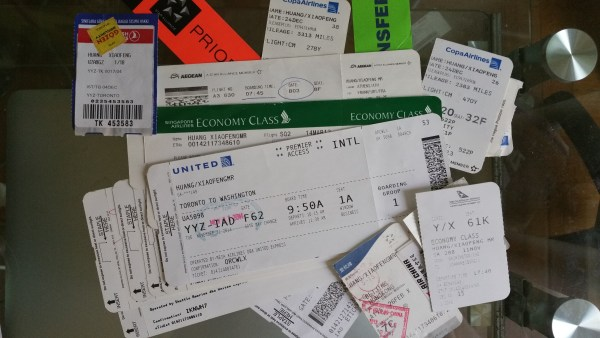 Some of the Surcharge Free Boarding Pass